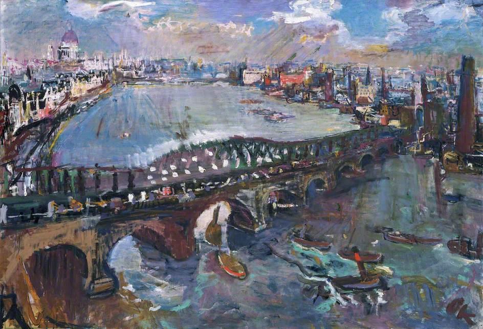 Trent Art On Twitter London Waterloo Bridge Oskar