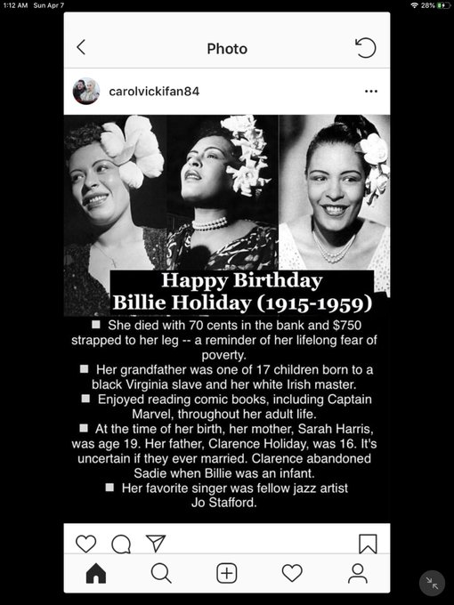 Happy Birthday! Billie Holiday, Jackie Chan, Russell Crowe and James Garner!