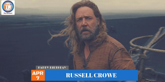 Birthday to Russell Crowe