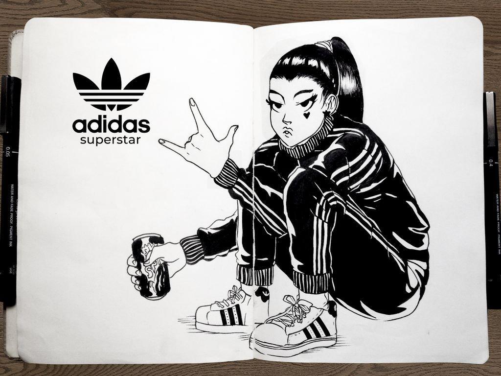 adidas sneakers girls хаштаг в Twitter