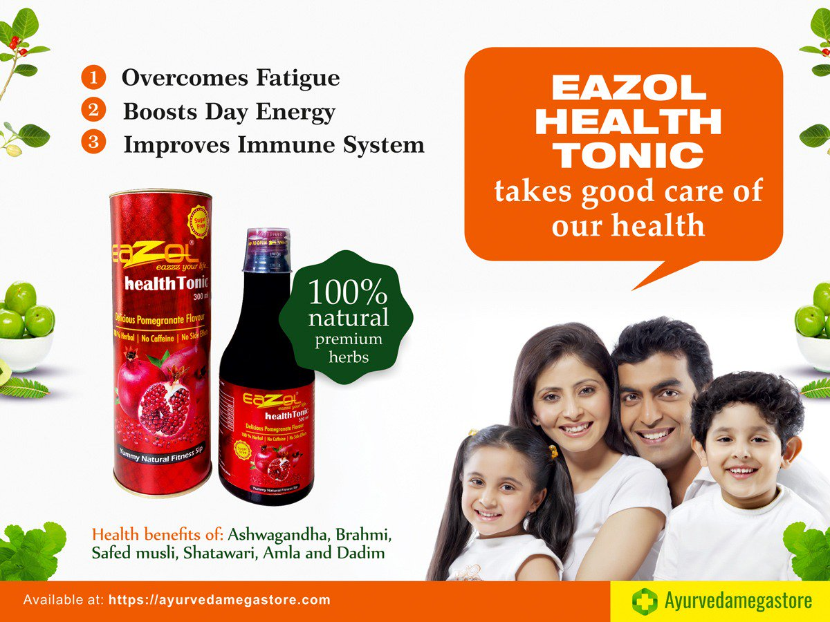 Ayurveda Mega Store On Twitter Purchase Eazol Health Tonic