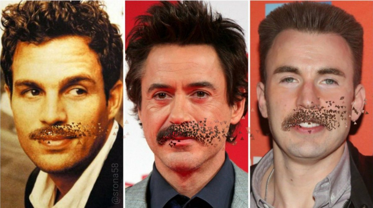 """The votes are in... """"none of them"""" wore it best, apparently. @ChrisEvans @MarkRuffalo"""