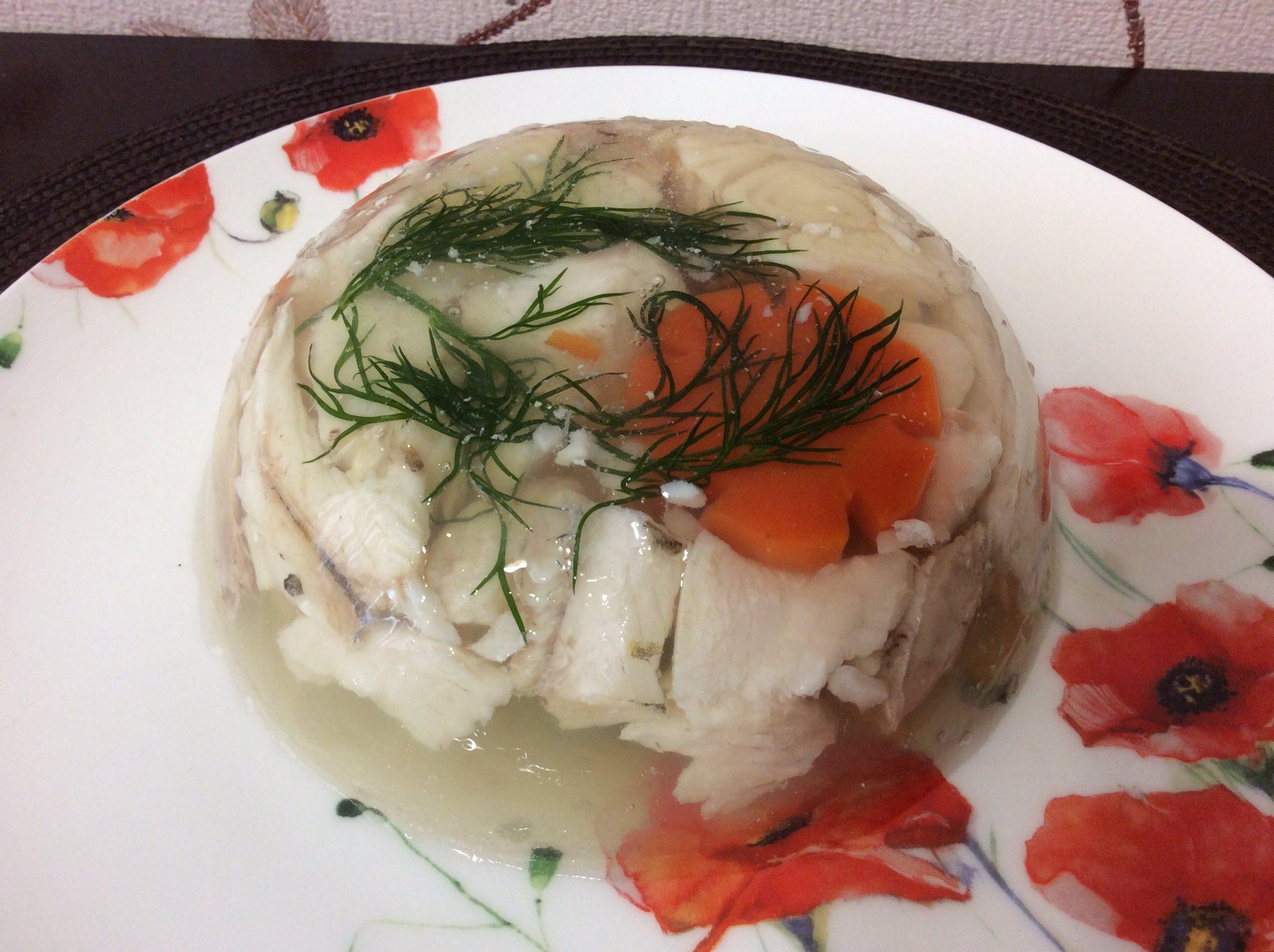 Заливное из морепродуктов рецепт с фото