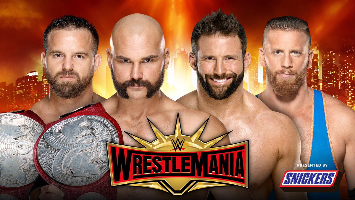 WWE WrestleMania's photo on the revival