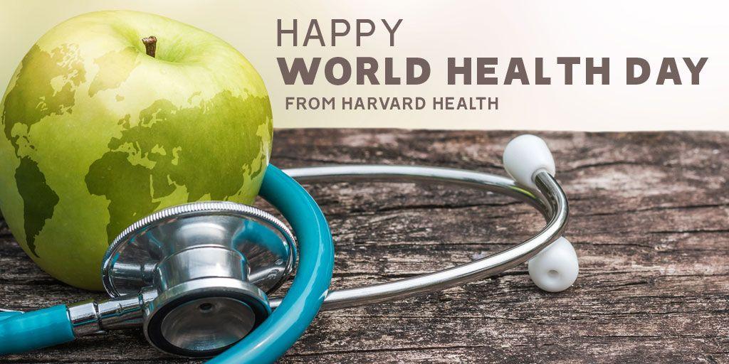 Happy World Health Day! #HarvardHealth #WorldHealthDay2019 #WorldHealthDay http://bit.ly/2KatDiE