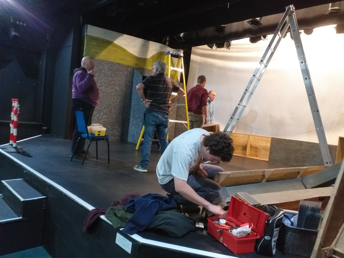 Get in day at @SwindonArtsCent