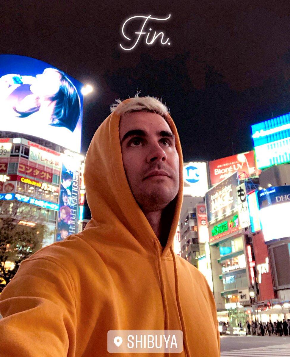 C'est la fin des 10 jours à Tokyo pour le tournage de mon court métrage. J'ai pas les mots pour décrire ce séjour incroyable. J'ai très hâte de vous montrer le vlog et le court métrage. 🌸 Merci à @F_Descraques et toute l'équipe d'avoir partagé ça avec moi ✌️