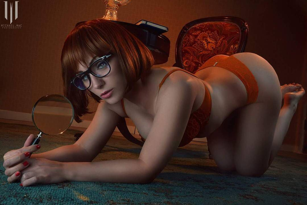 Naked girl velma