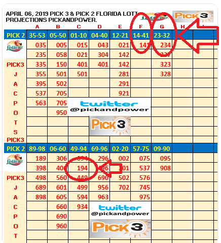 floridalotteryResults #pick3 #pick2 #lottery @floridalottery