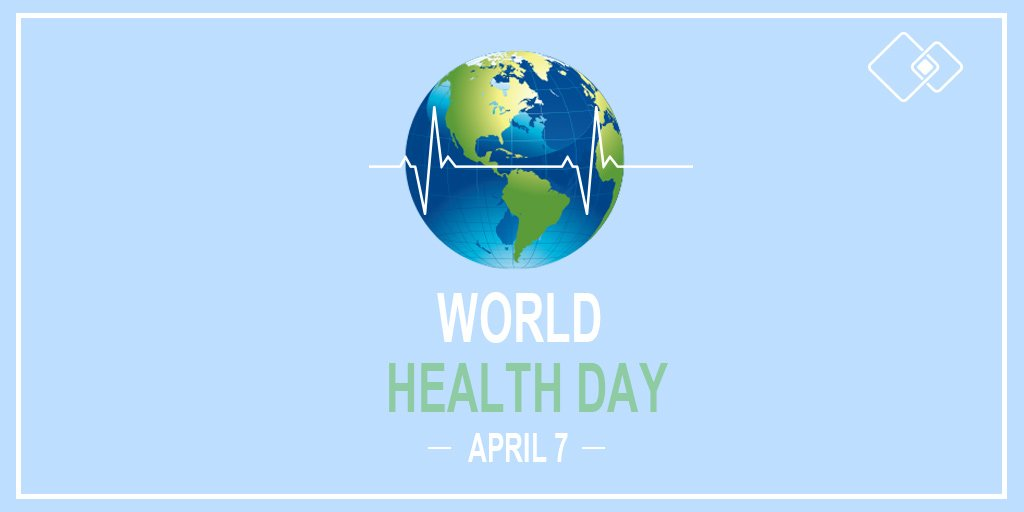 Today marks the celebration of World Health Day. Since its inception in 1948, this celebration has created awareness of a specific health theme each year. This year, we are bringing awareness to universal health coverage. Join us in supporting #HealthForAll   #WorldHealthDay @WHO