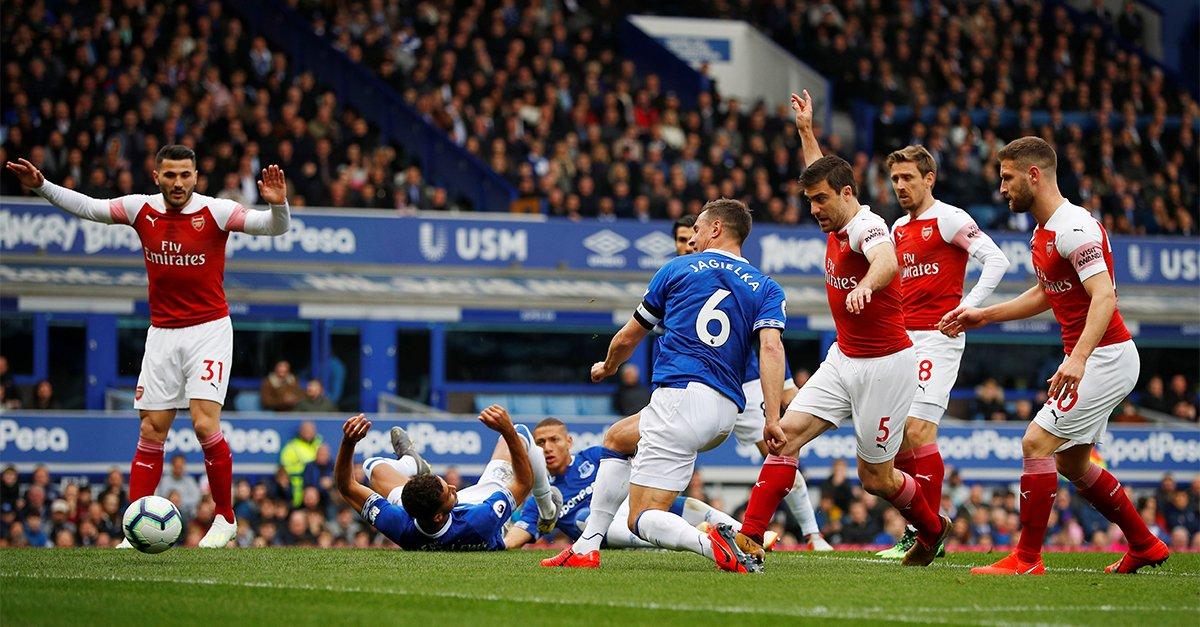 Arsenal vs Everton Highlights