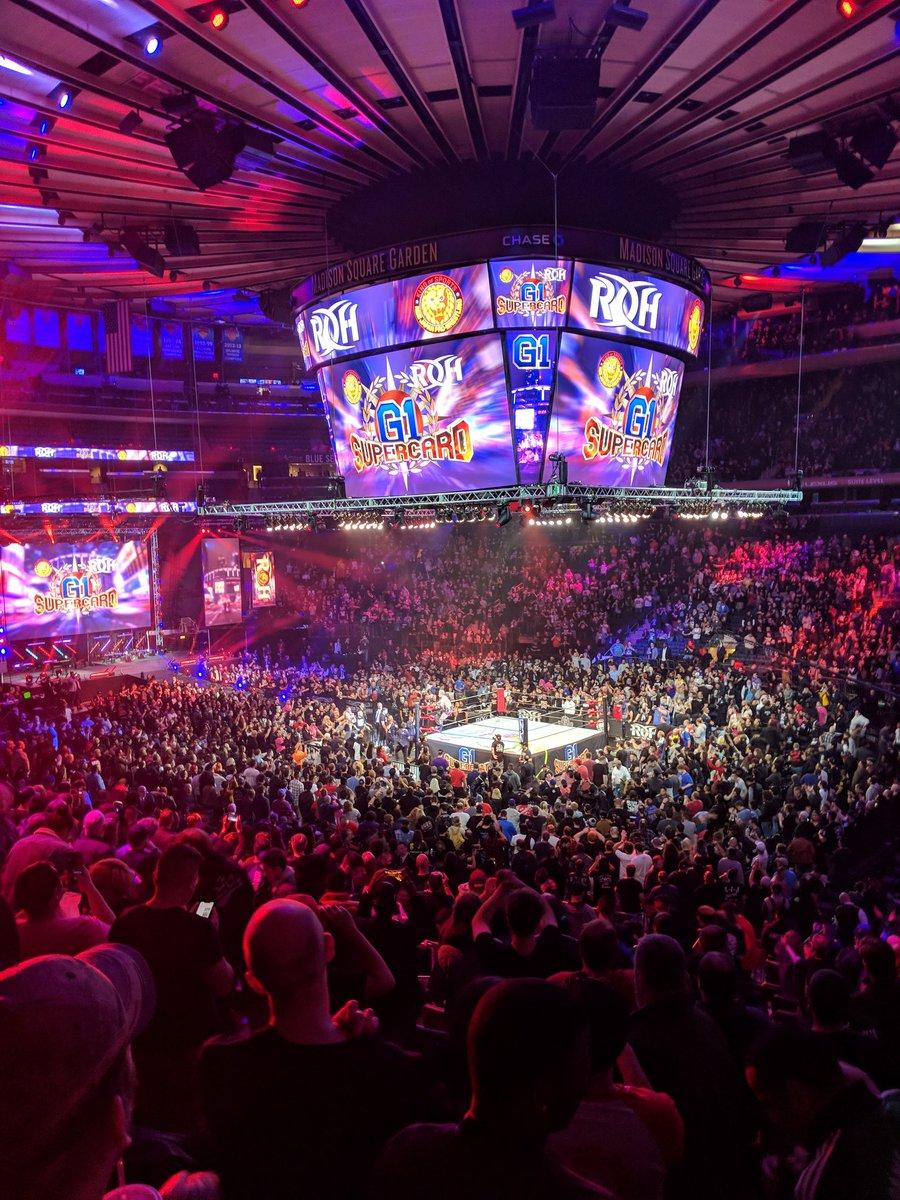 """NJPW/ROH: """"G1 Supercard"""" Grandiosa función en el MSG, Okada se corona 2"""