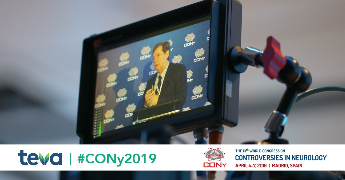 8bdcc46be ... a full post-event report in the coming days. Register at  http   Neurologybytes.com to receive our congress report.  CONy2019pic. twitter.com WTwVvhKOby