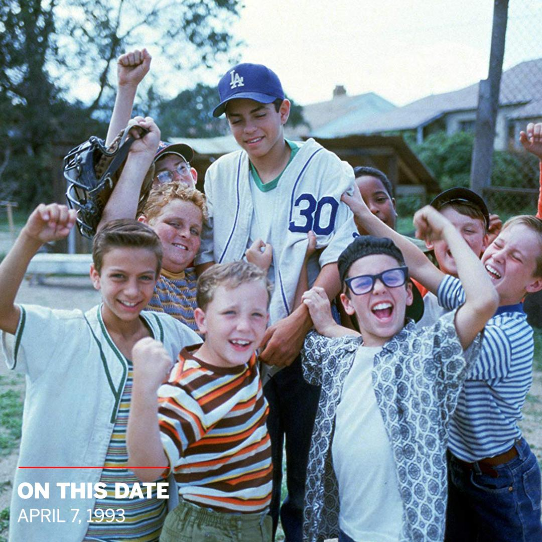 On This Date: 26 years ago, The Sandlot hit theaters and became a baseball movie we'll remember FOR-EV-ER ⚾