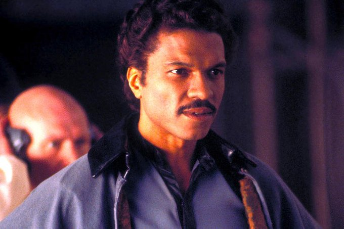 Happy belated birthday Billy Dee Williams    P.S. my apartments wifi name is LANdo Calrissian