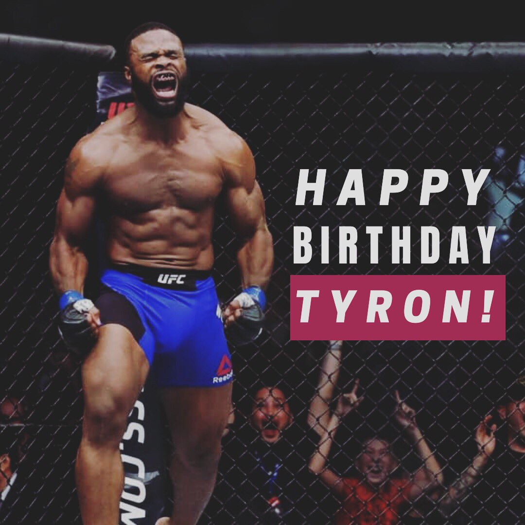"Wishing our ""Chosen One"" @TWooodley a very happy birthday. Hope you have an awesome day!! 🎁👊💥"