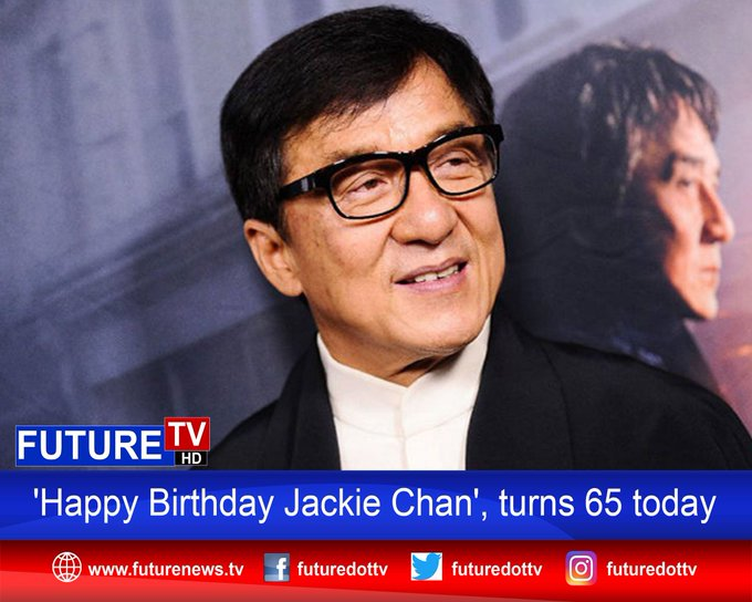 \Happy Birthday Jackie Chan\, turns 65 today Read More :