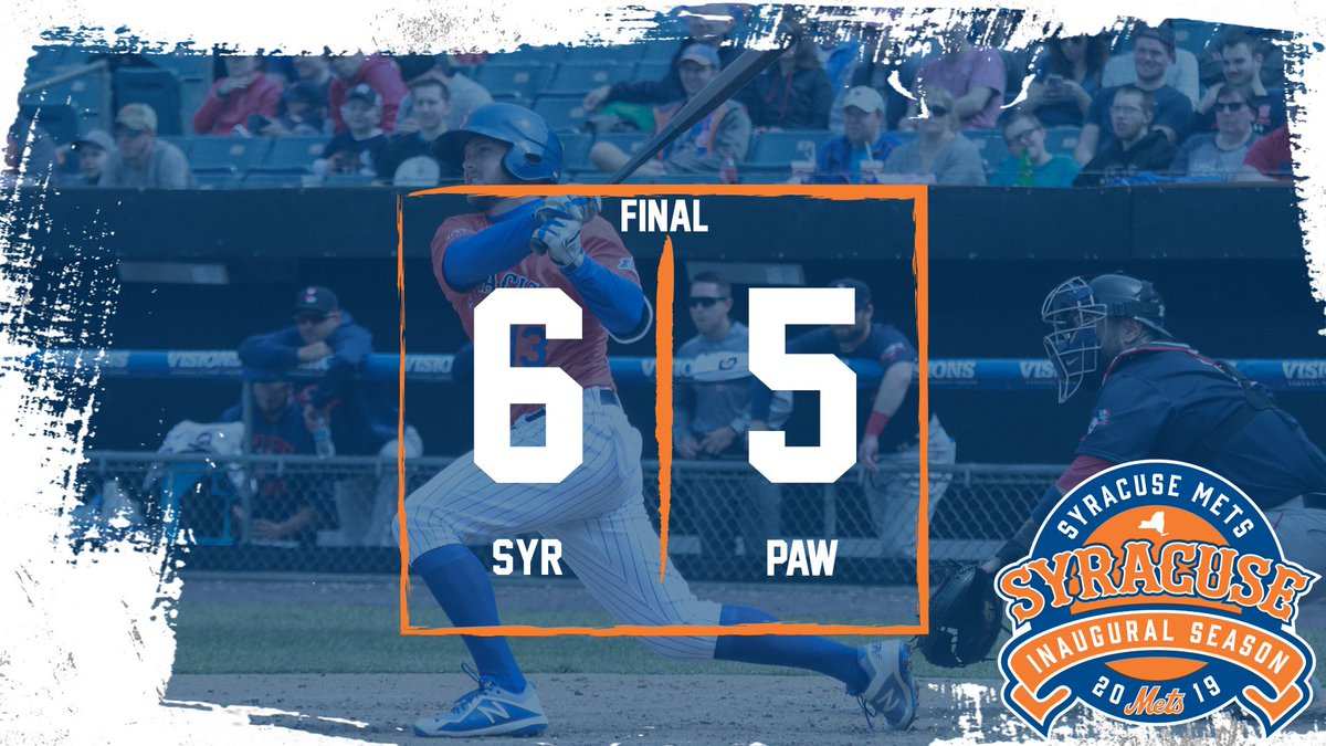 Syracuse Mets win first series in franchise history