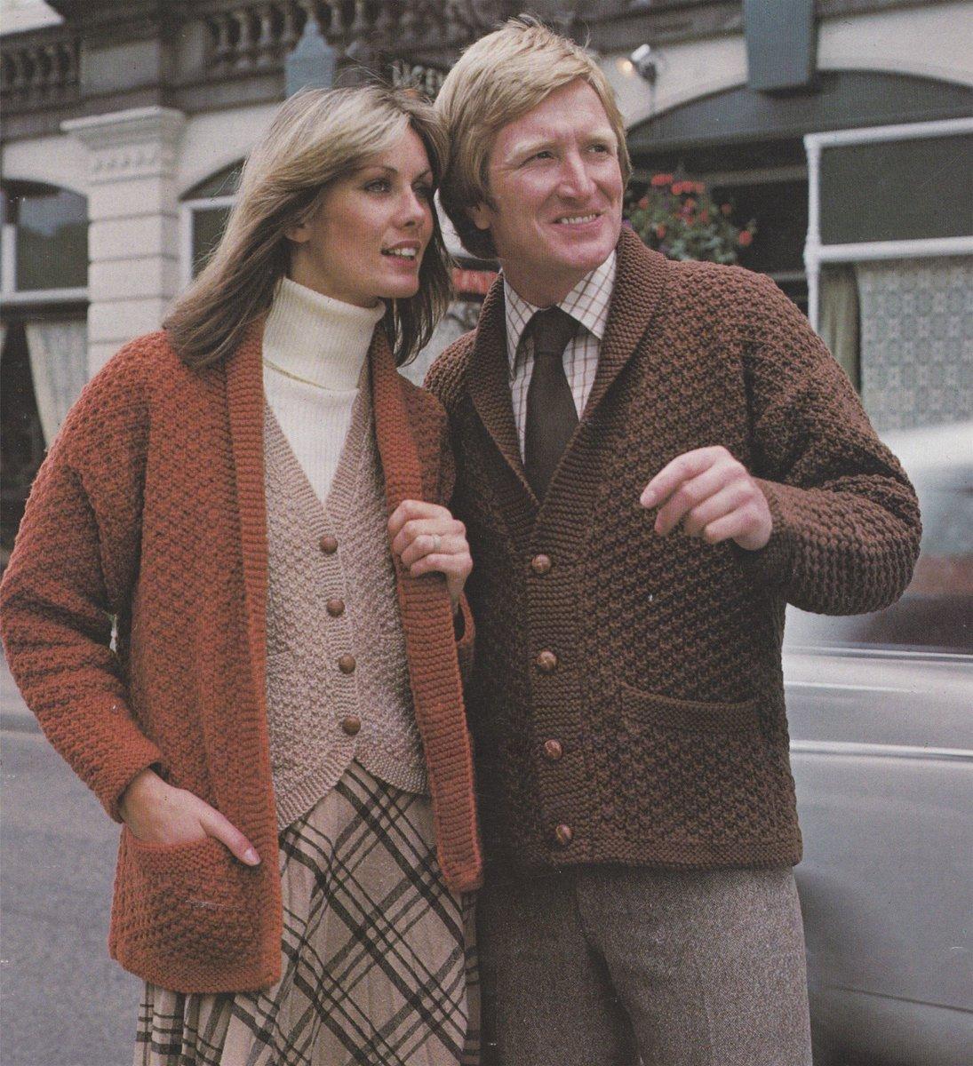 40-42 Inch Chest. Knitting Pattern Mens Vintage Fair Isle Slipover//Pullover