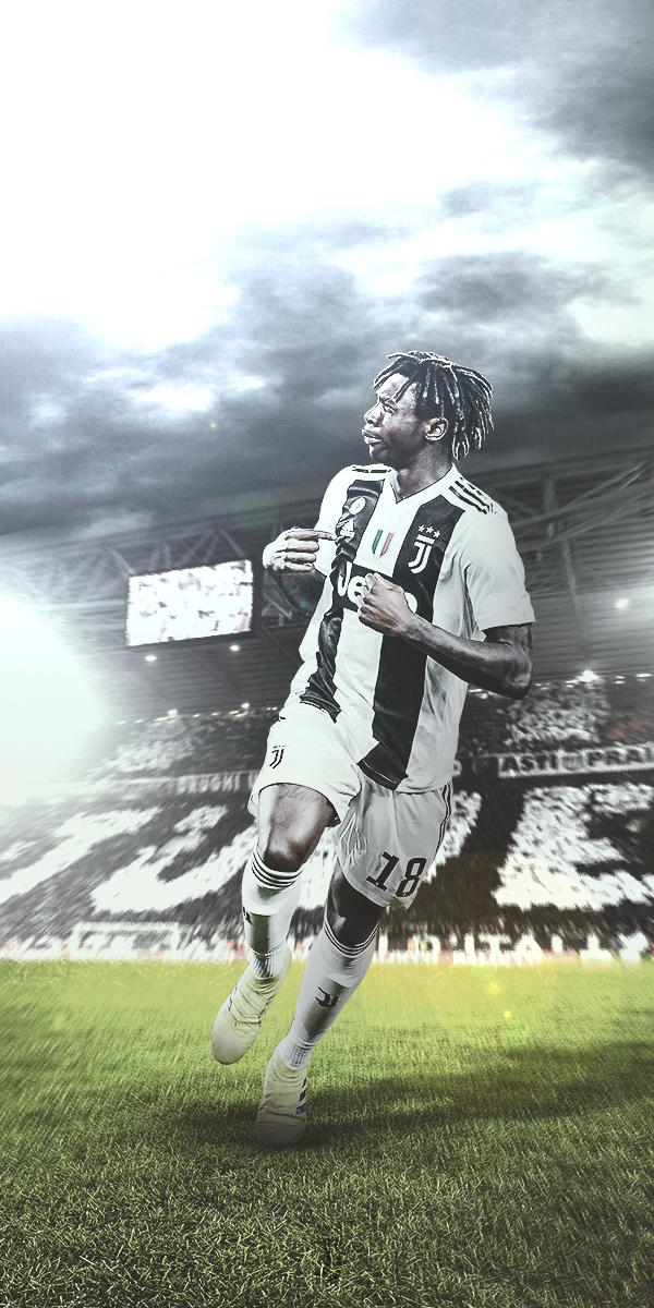 Charll On Twitter Moise Kean Wallpaper Likes And Rt S Appreciated Moisekean Kean Juventus Juve Forzajuve Bianconeri