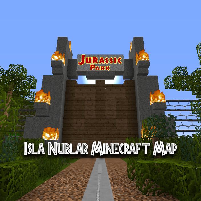 Isla Nublar Minecraft Map - @EJPMinecraft Twitter Profile and