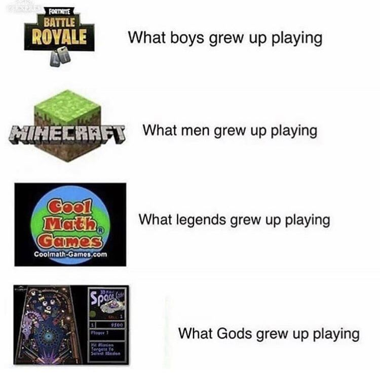 Gaming Humor News On Twitter Windows Xp Created Gods
