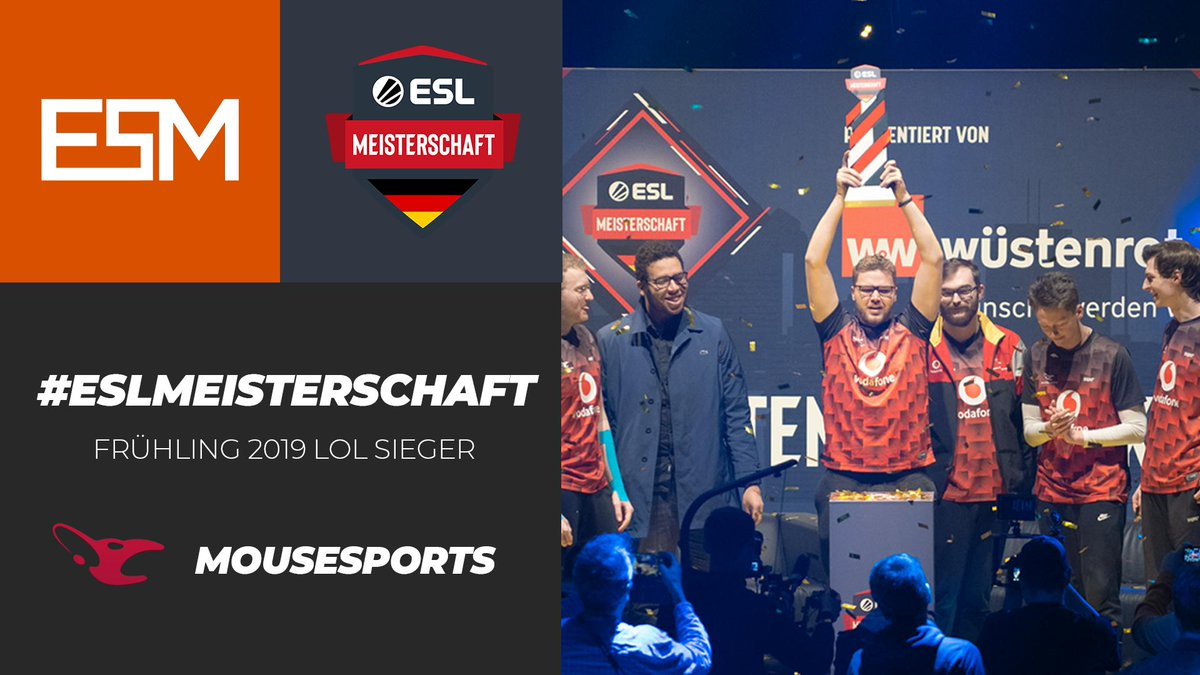 eSport-Mania's photo on #ESLMeisterschaft