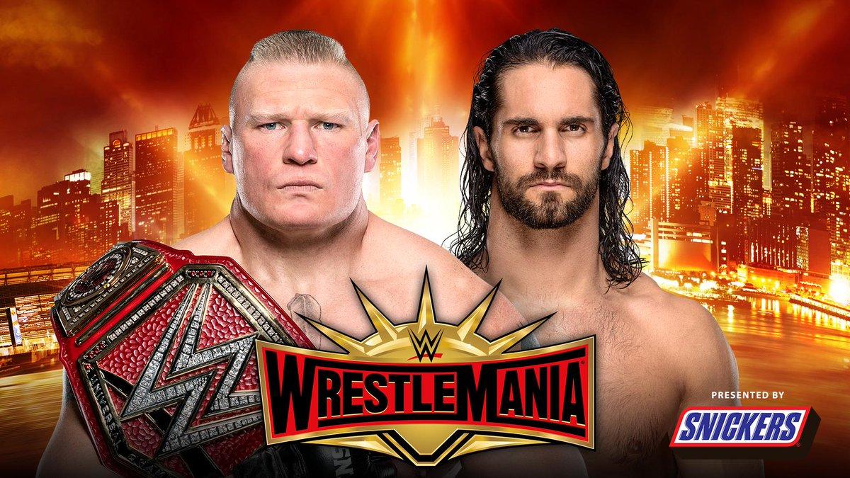 WWE WrestleMania's photo on Seth Rollins