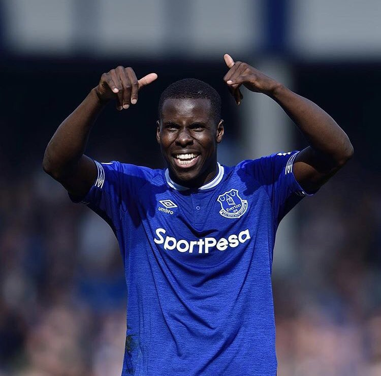 A really nice win today ⚽️👌🏿 fans again and again #top 😍🙏🏿 big congrats to the Skipper for the goal ⚽️😁 #lazoumance @everton