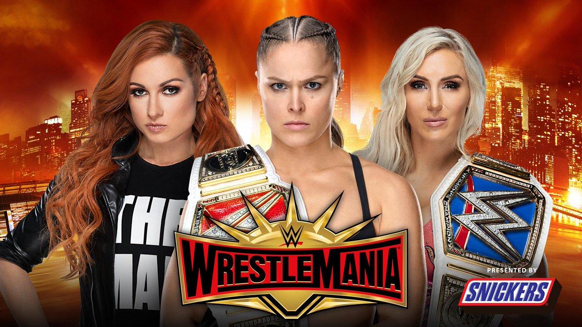 WWE WrestleMania's photo on Becky Lynch