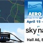 Image for the Tweet beginning: Visit Skynavpro at AERO Friedrichshafen