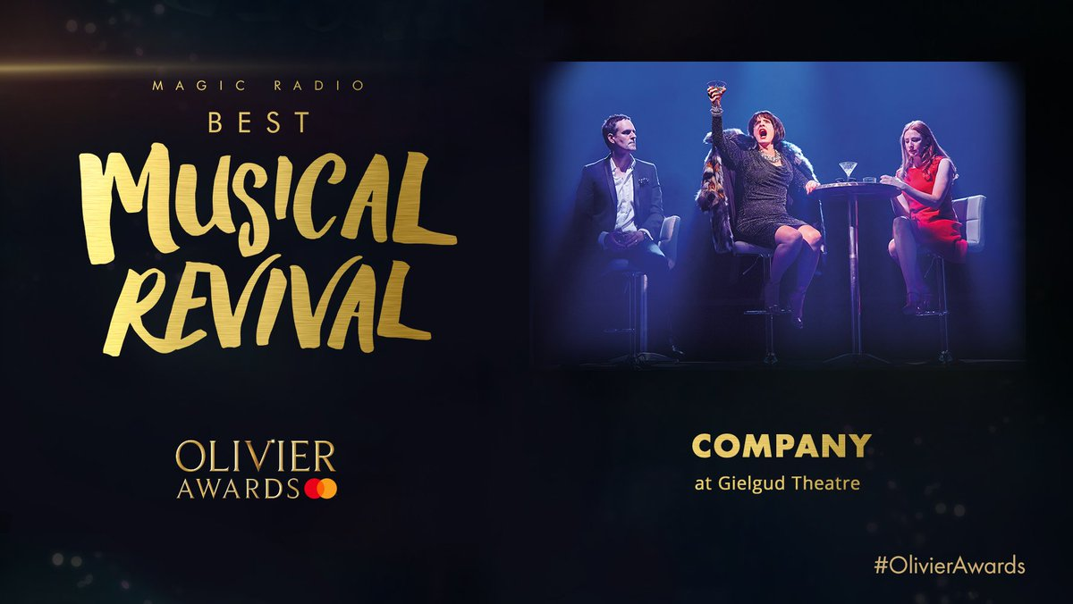 Olivier Awards's photo on the revival