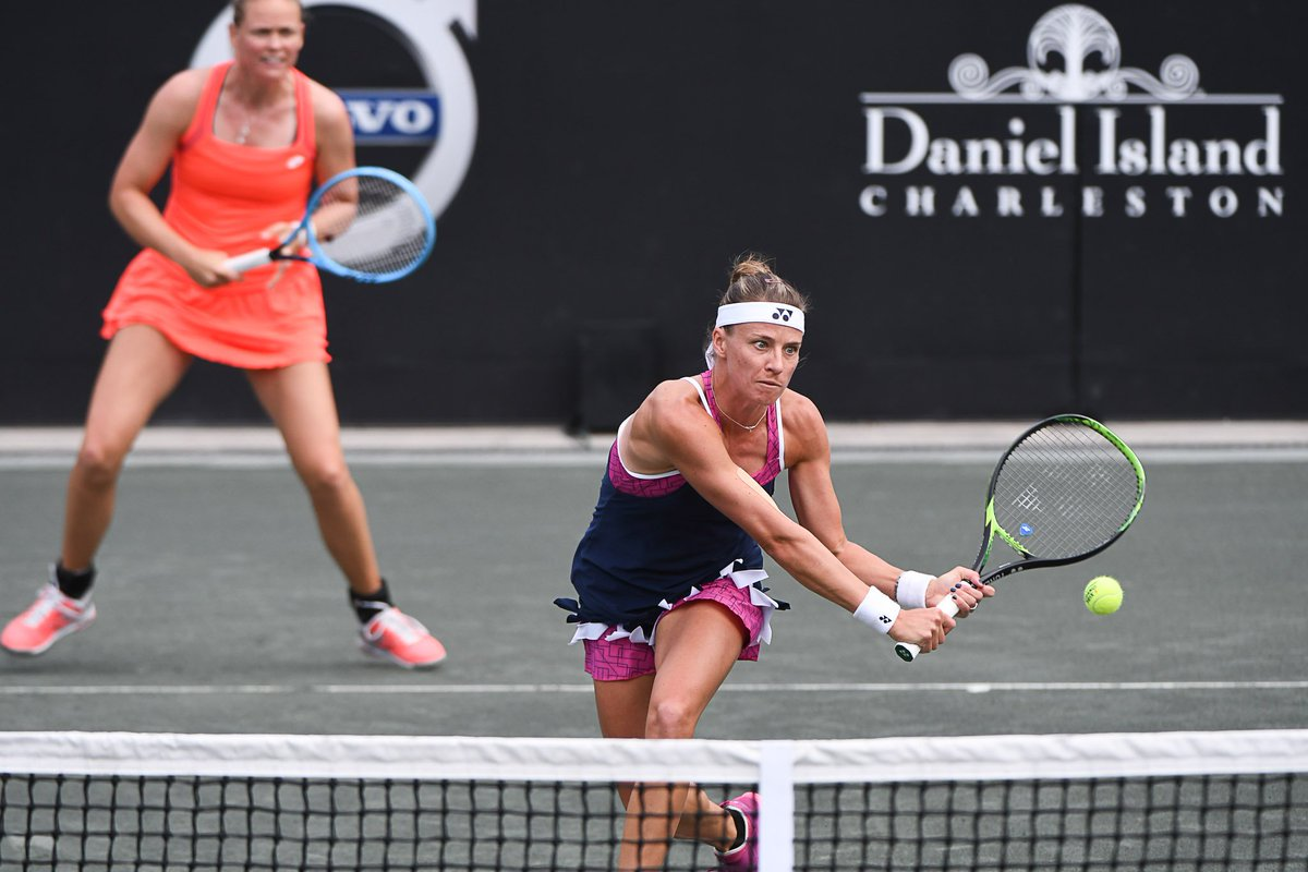 WTA CHARLESTON 2019 - Page 4 D3lFtISW4AAySbO