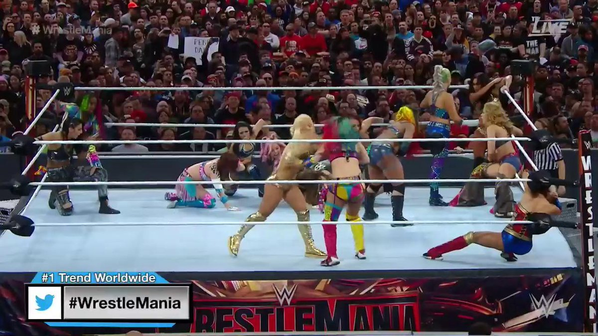 WrestleMania 35: 2nd Annual WrestleMania Women's Battle Royal (Kickoff)