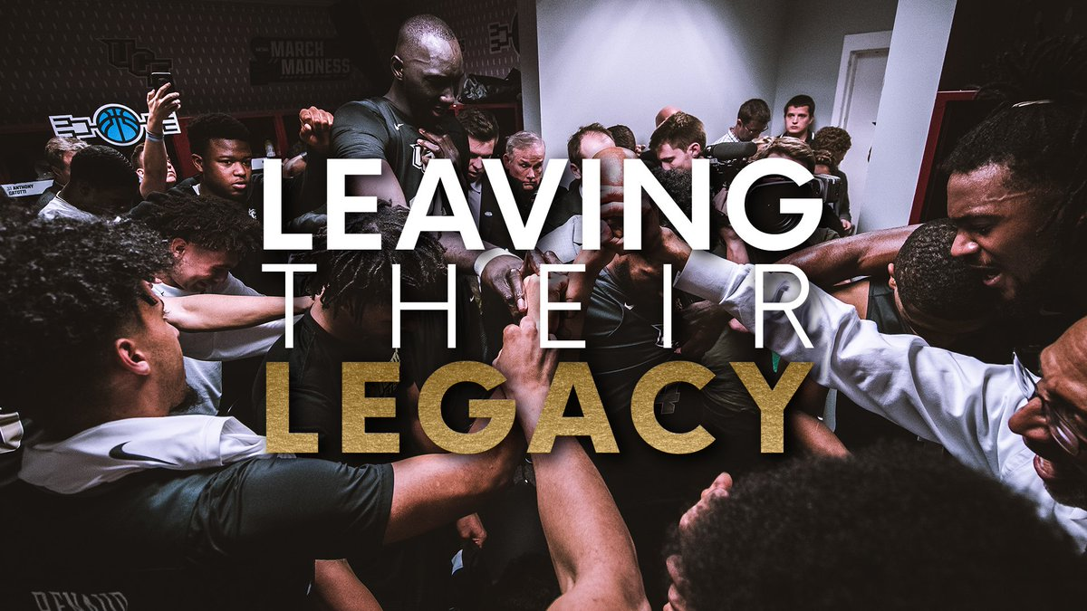 They've taken this program to new heights and we'll be forever thankful. 🙌  BJ, Tacko and Chad recount the magical run in the NCAA Tournament and look back at the legacies they've left at UCF. ⚔️  For full video: https://ucfknights.co/watchLTL