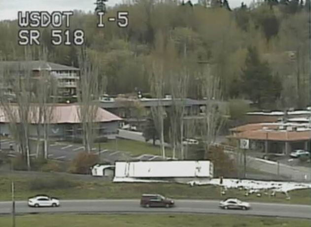 Sb i-5 traffic alert : Latest News, Breaking News Headlines | Scoopnest