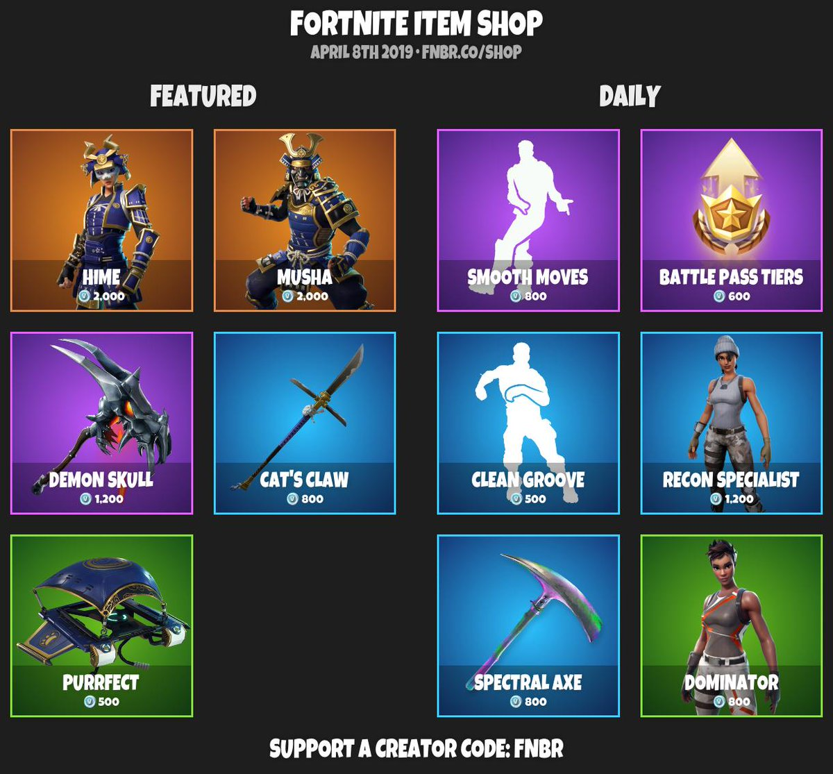 Fortnite Item Shop Today March 4 2019 | Fortnite Generator V