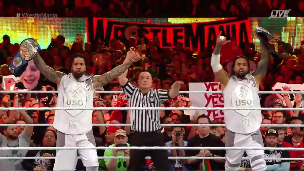 WrestleMania 35: Ricochet & Aleister Black Vs. The Bar Vs. Rusev & Shinsuke Nakamura Vs. The Usos