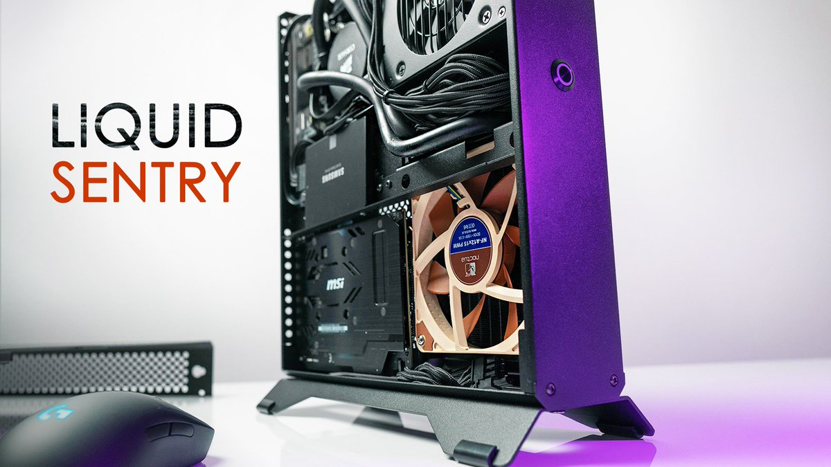 Liquid cooling the Sentry 2 0 ❄️ i e  how to run an 8700K