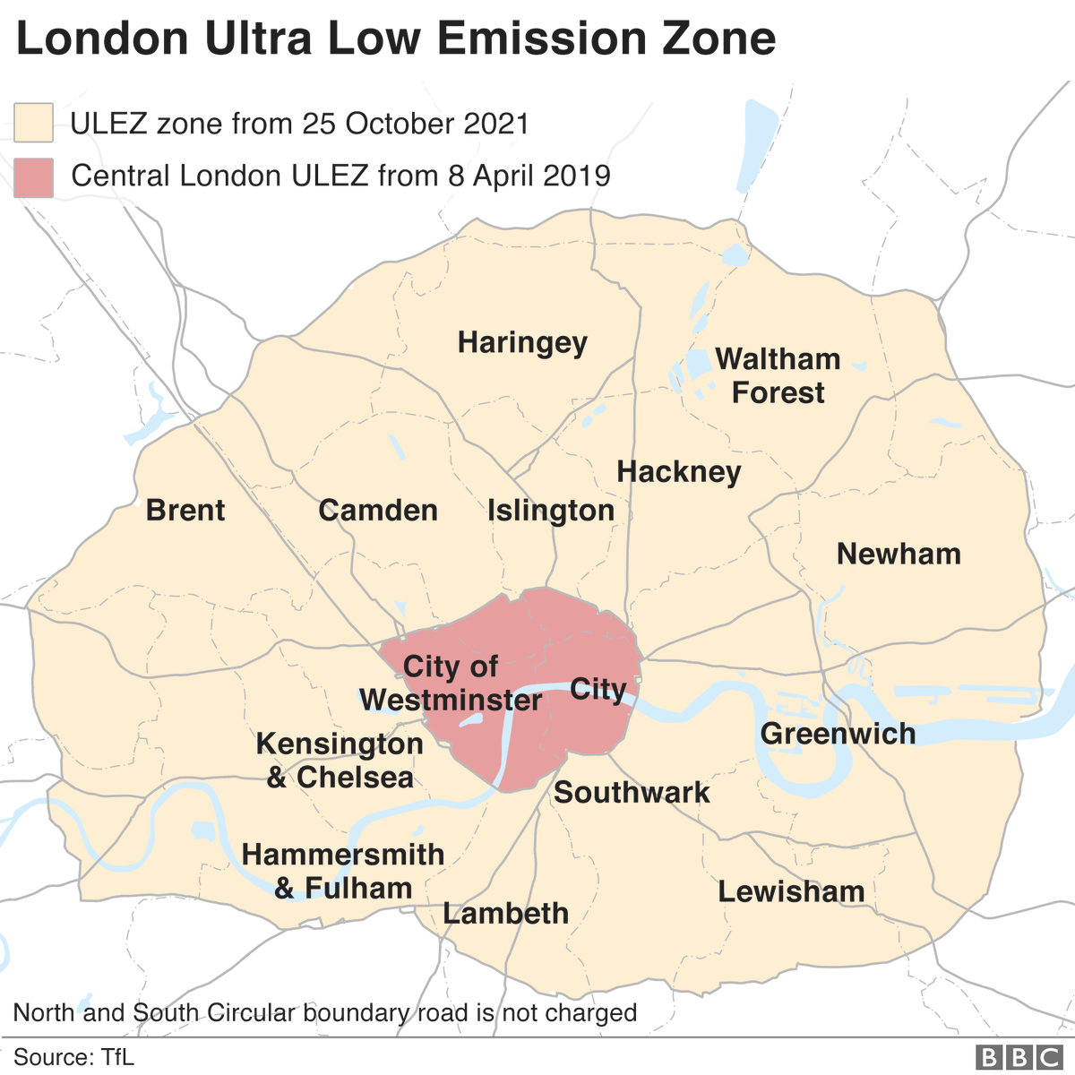 The Ultra Low Emission Zone (ULEZ) has come into force in central London bbc.co.uk/news/uk-englan…
