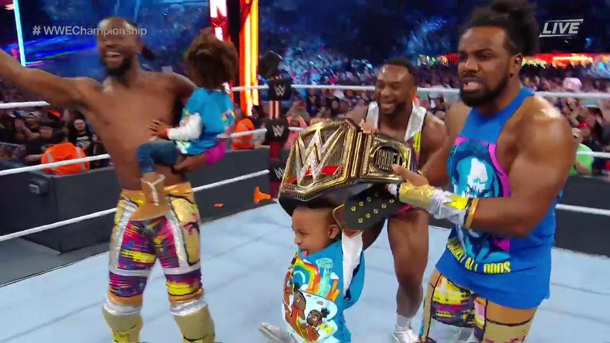 Kofi Kingston Wins WWE Championship At WrestleMania 35 (Photos, Videos)