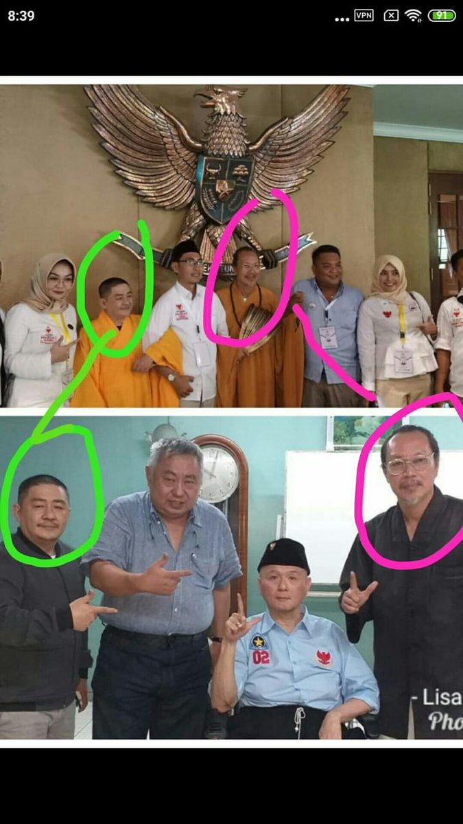 Sindiran Timses Jokowi Soal Foto Biksu Hadiri Kampanye Prabowo