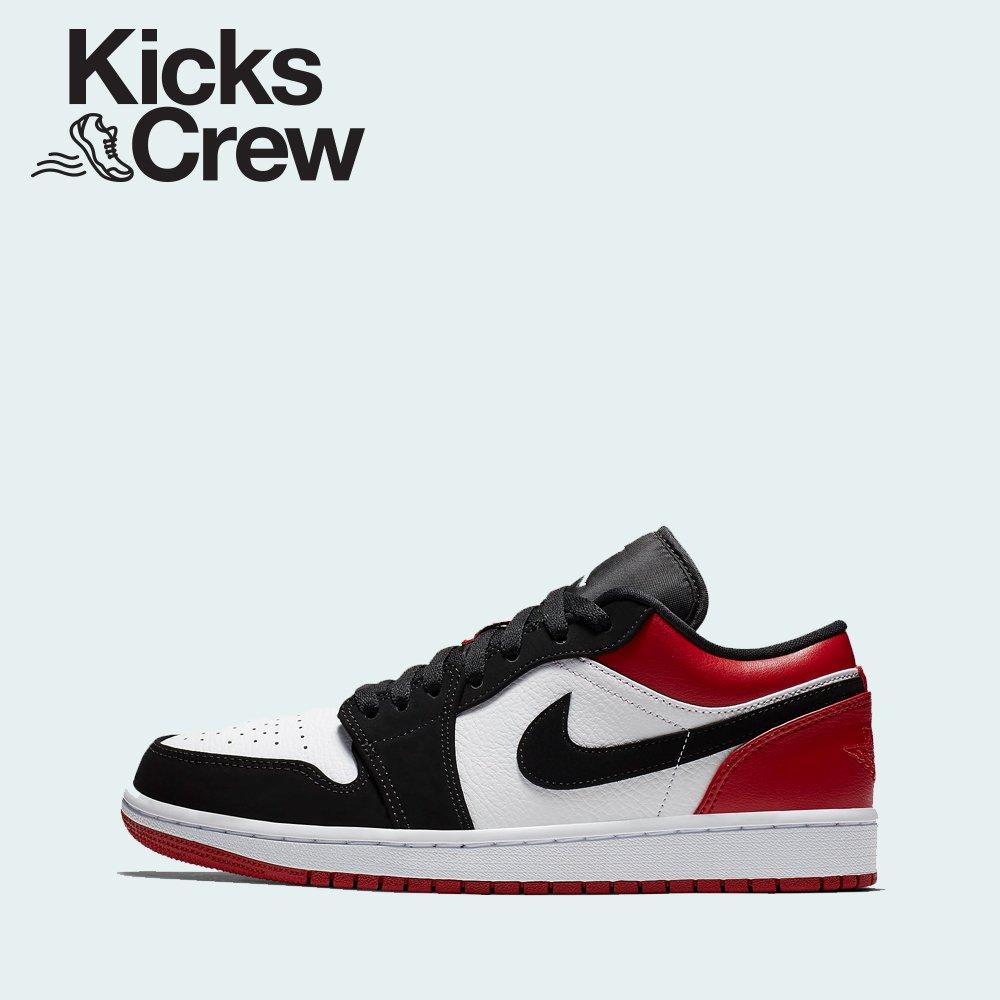 317b65401eb99 Nike Air Jordan 1 Low - Black Toe (553558-116) USD 240 New