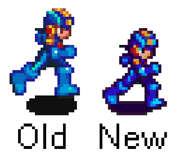 Brian On Twitter Which Did You Prefer The Larger Realistic Sprites Of Mega Man Battle Network 1 3 And Bcc Or The Smaller More Stylized Sprites Of Battle Network 4 Battle Network 6 I M