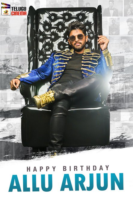 Wishing Southern Star a Very Happy Birthday! Tell us your favourite movie of Allu Arjun..