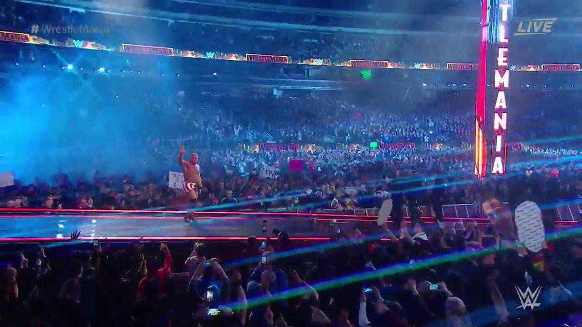 WrestleMania 35: Kurt Angle Vs.. Baron Corbin (Kurt Angle's Farewell Match)
