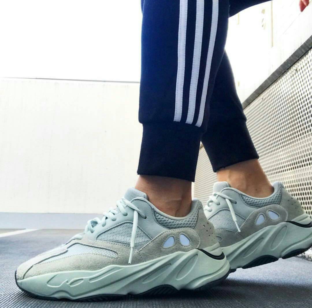 """9aac92edf Good morning beautiful people This Yeezy Boost 700 """"Salt"""" on your feet will  be"""