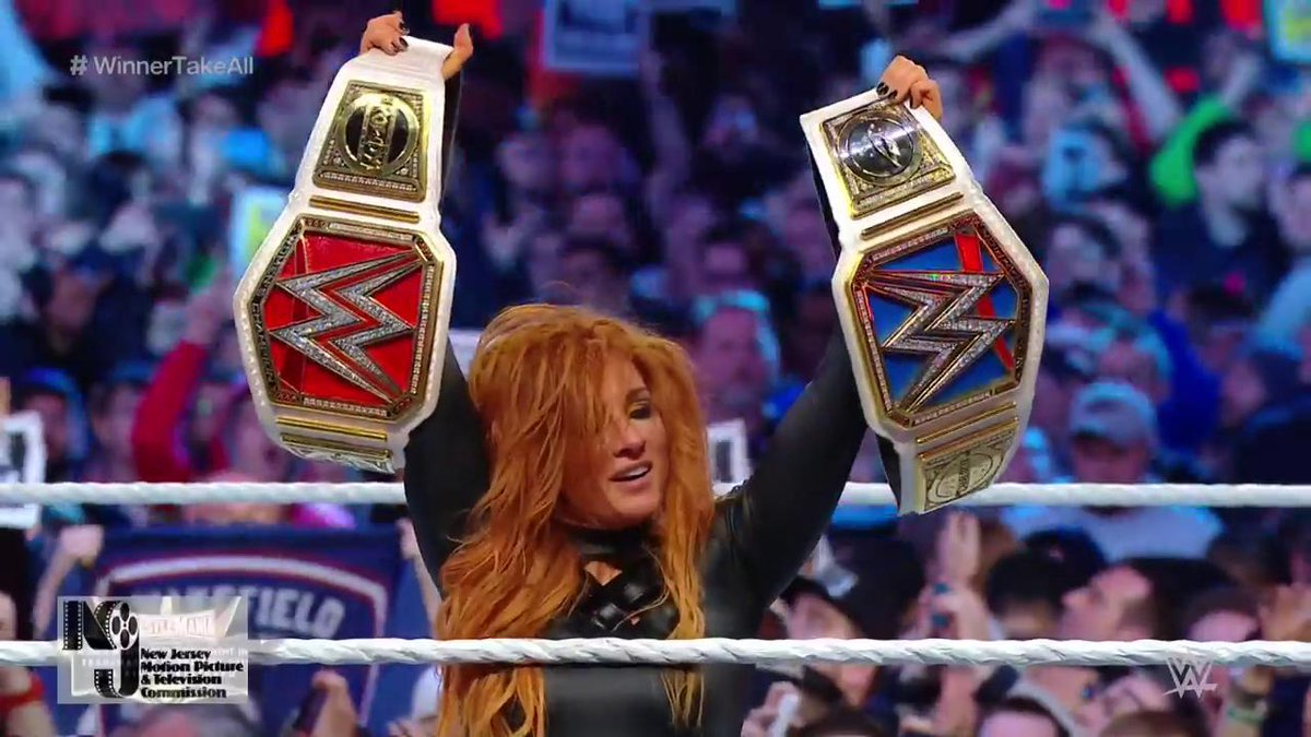 "Big Title Change In The ""Winner Takes All"" Main Event Of WrestleMania 35 (Photos, Videos)"