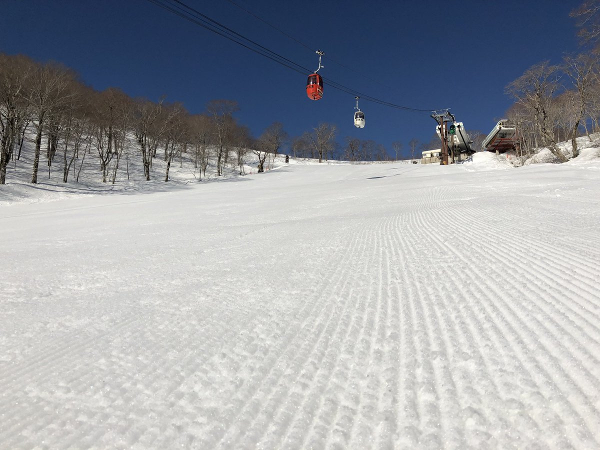 本格的な春シーズンが到来してる中、 高鷲SPはまだまだ積雪量豊富です👍