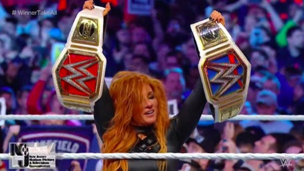 For The Win's photo on Becky Lynch